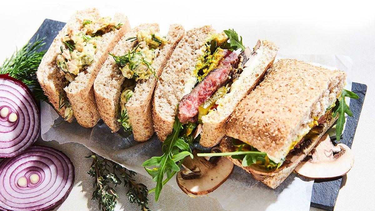 Dārgā steika sviestmaize