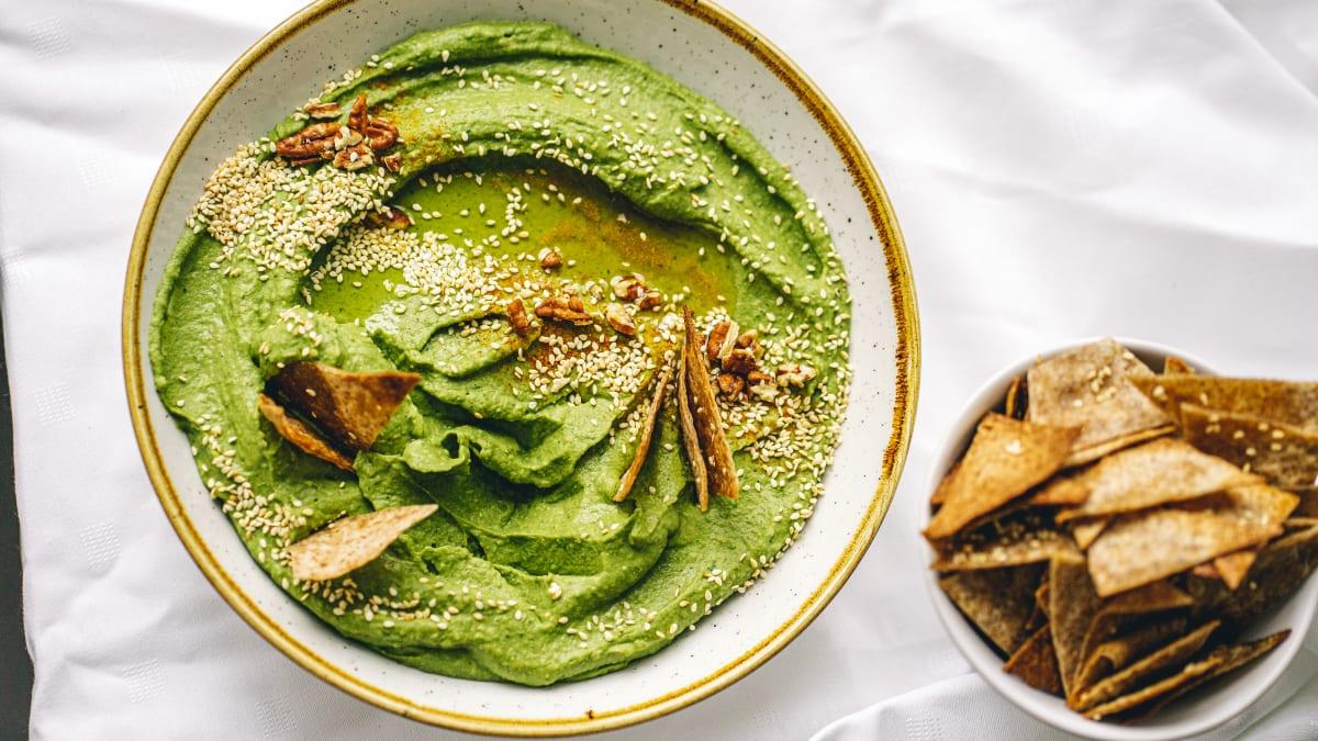 Zaļais humuss