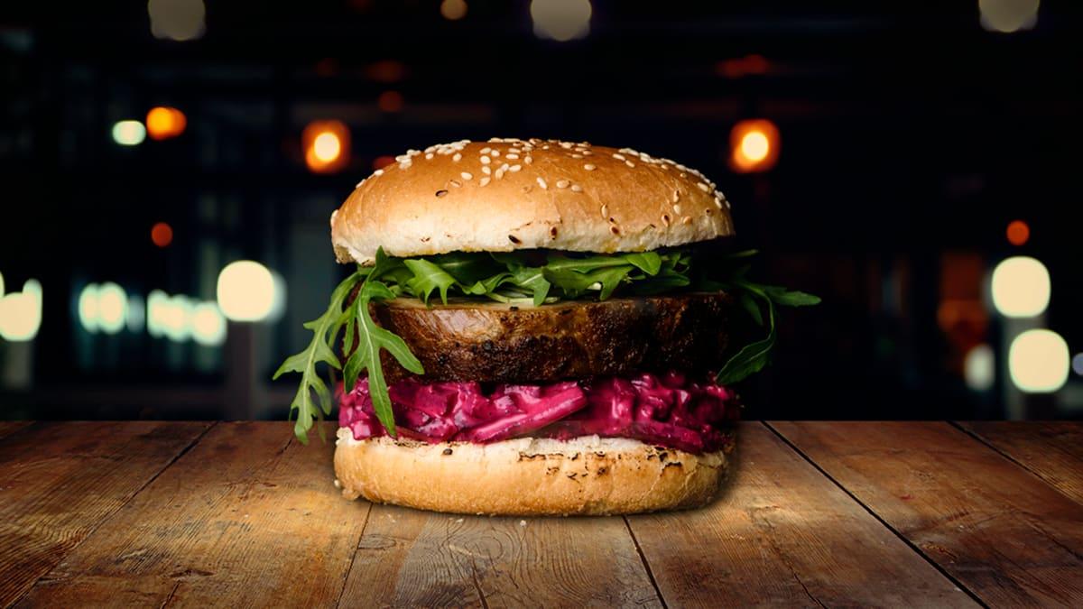 Sealiha peedi-küüslaugu burger