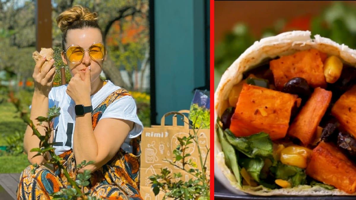 Kristel Aaslaidi vürtsikas vegan bataadi burrito