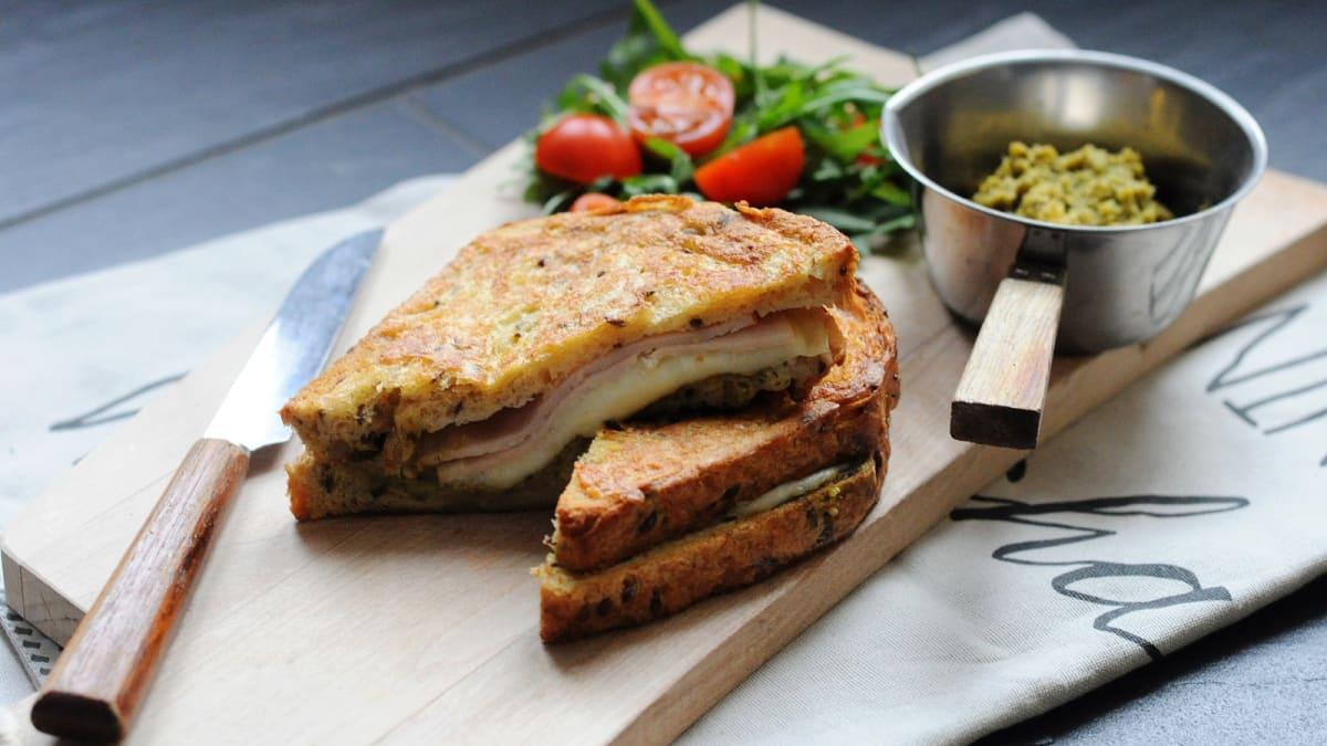 Soe mozzarella-võileib