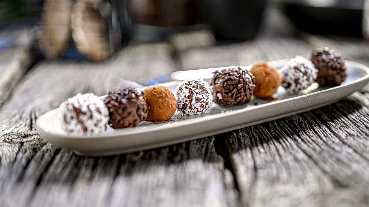 Šokolādes trifeles