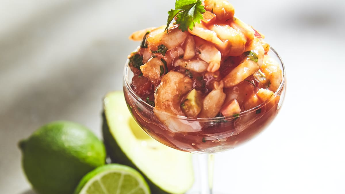 Garneļu kokteilis