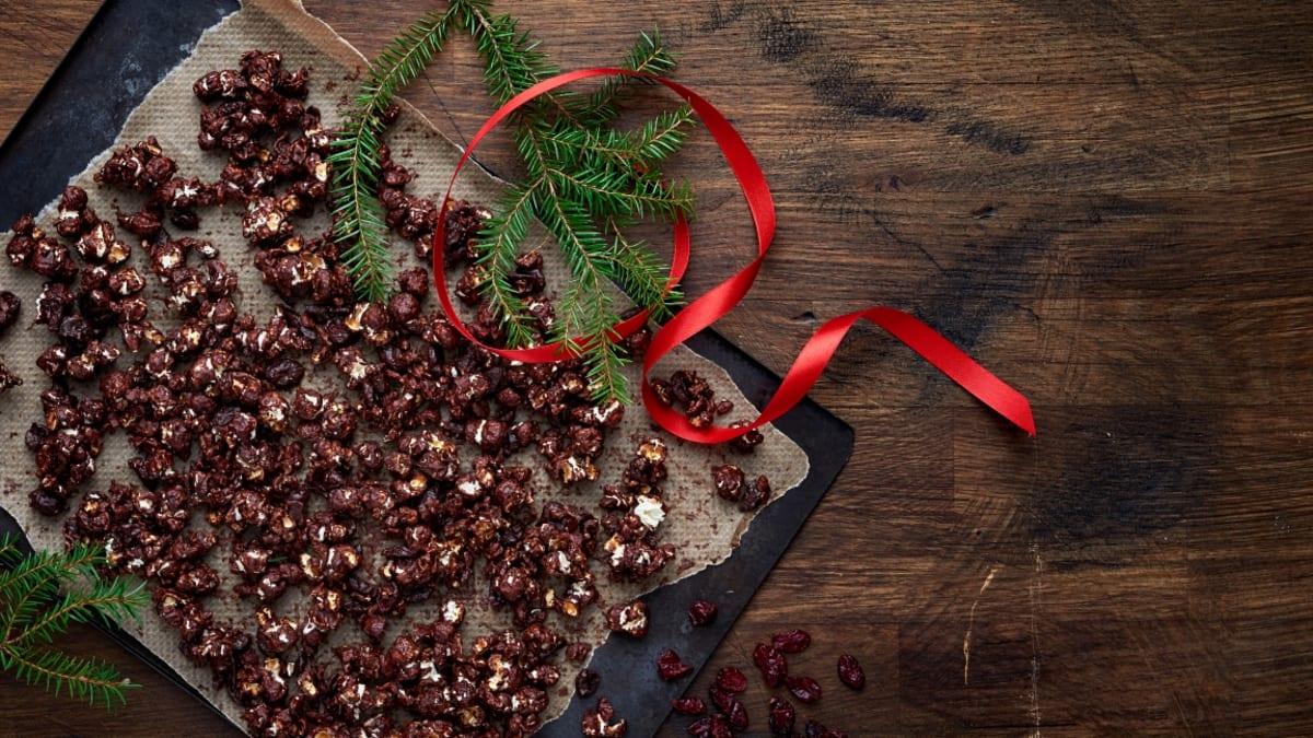 Šokoladiniai spraginti kukurūzai
