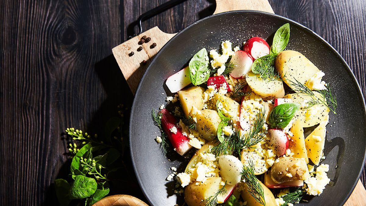 Līgo kartupeļu salāti