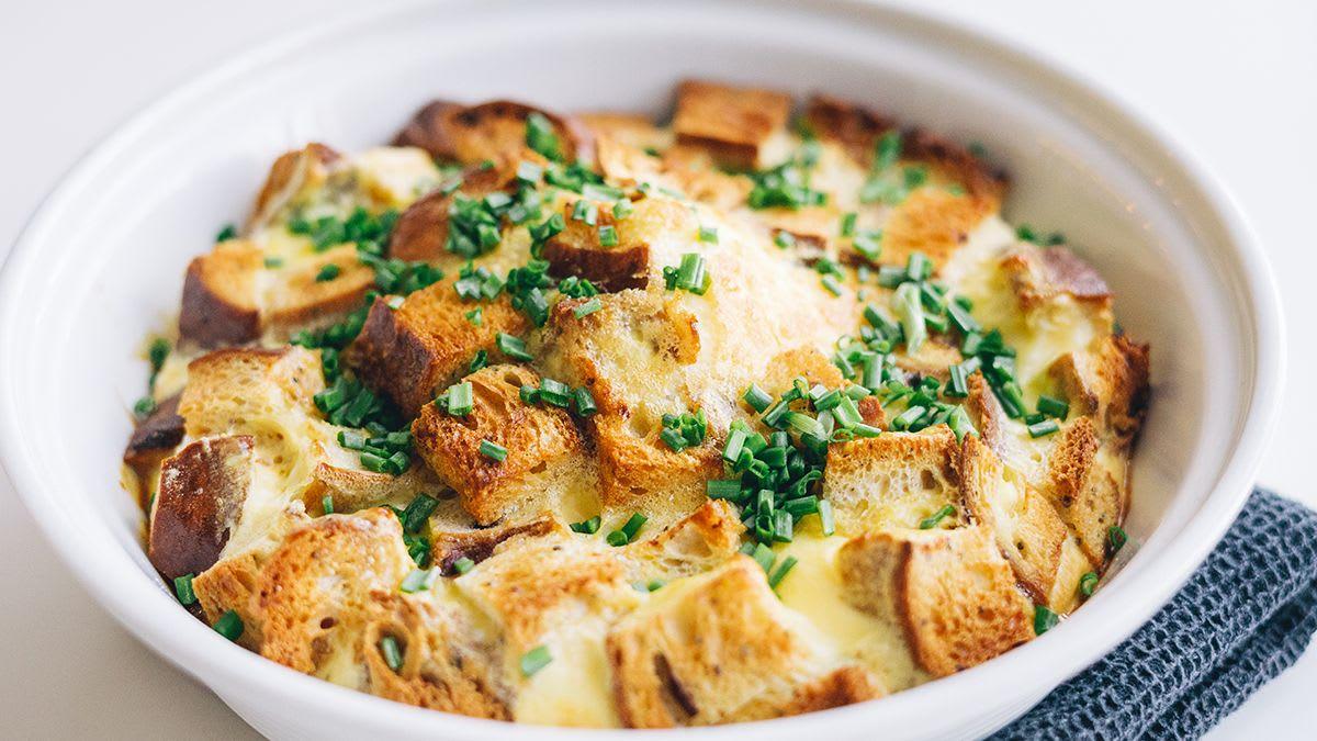 Kraukšķīgā omlete