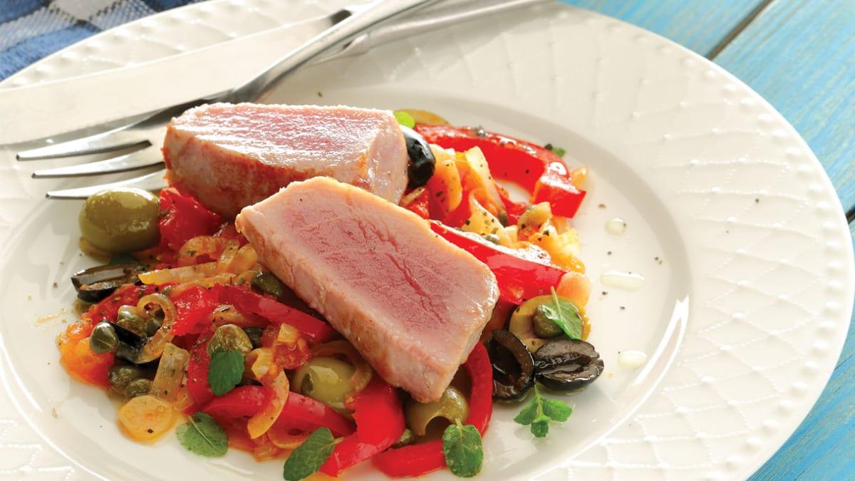 Sicilietiškas tuno kepsnys