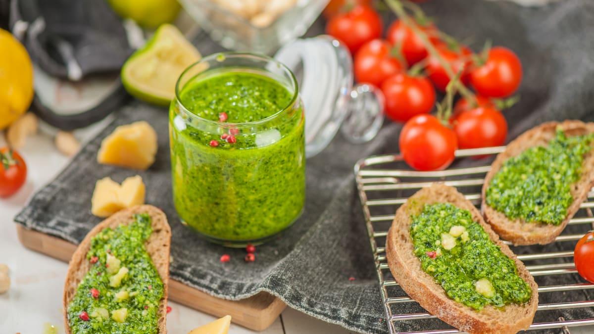 Keil salātu pesto