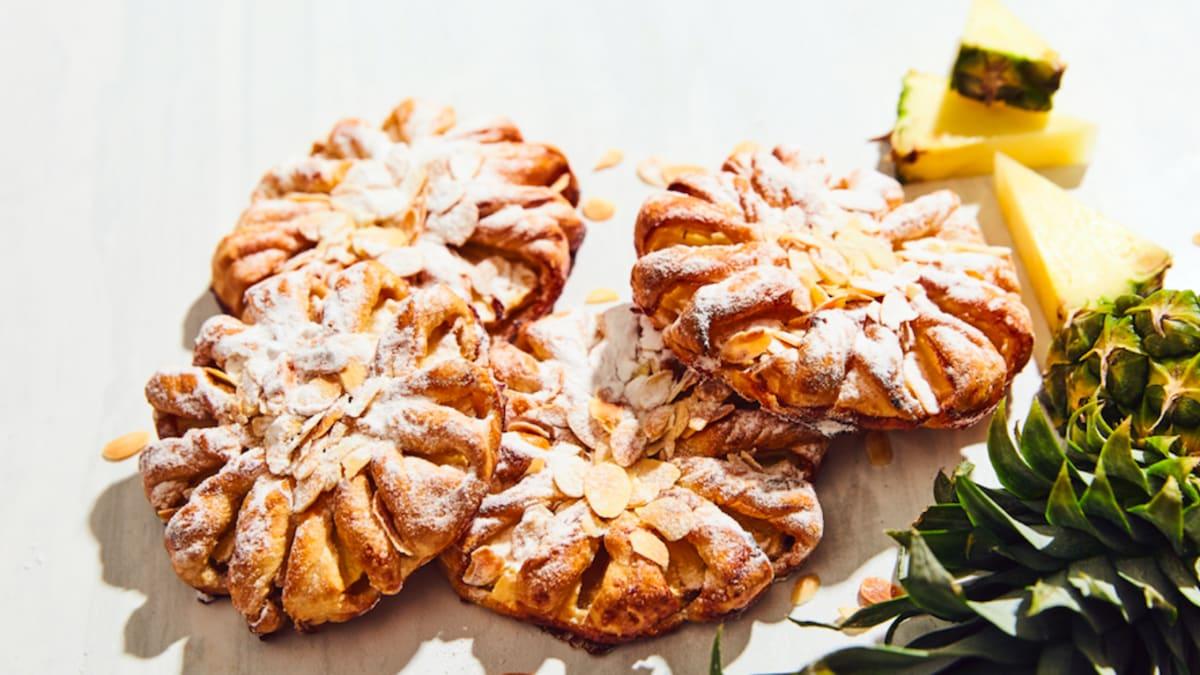 Ananasu maizīte