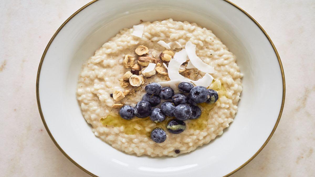 Brokastu rīsu putra