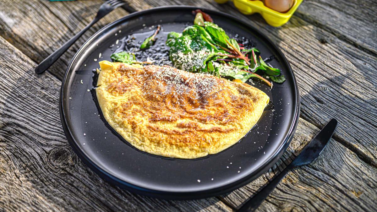 Klasiskā franču omlete