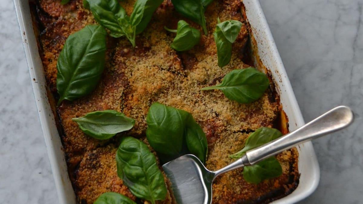 Baklažaani-parmesani ahjuvorm