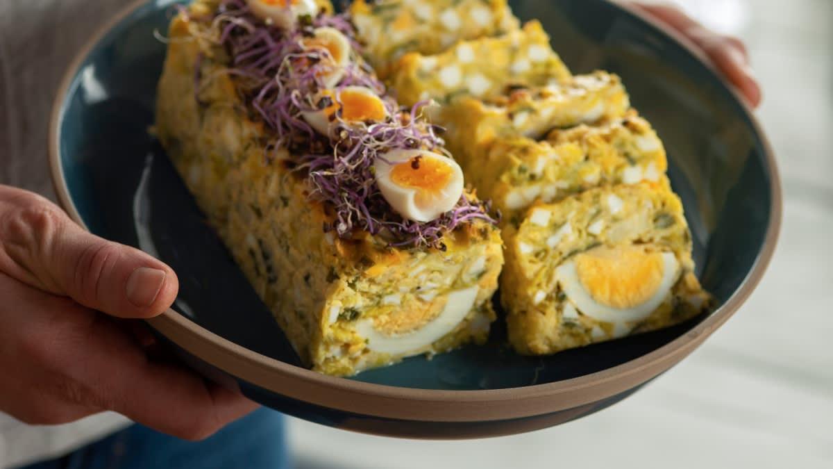 Kiaušinių ir porų paštetas