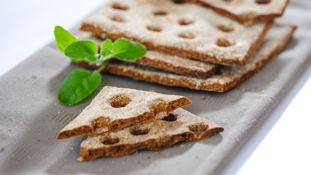 Kraukšķīgā rudzu maizīte