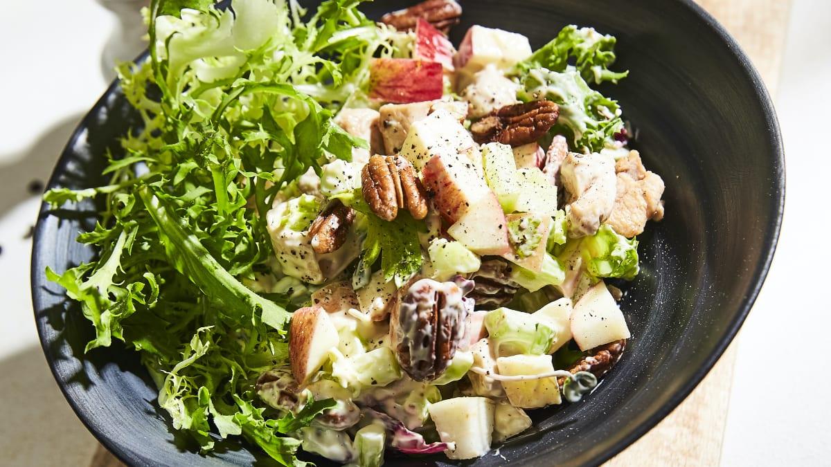 Truša gaļas salāti