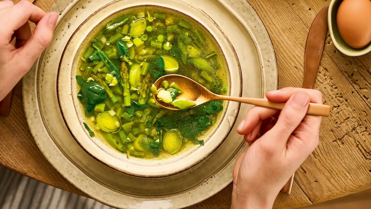 Pavasarinė MINESTRONE sriuba