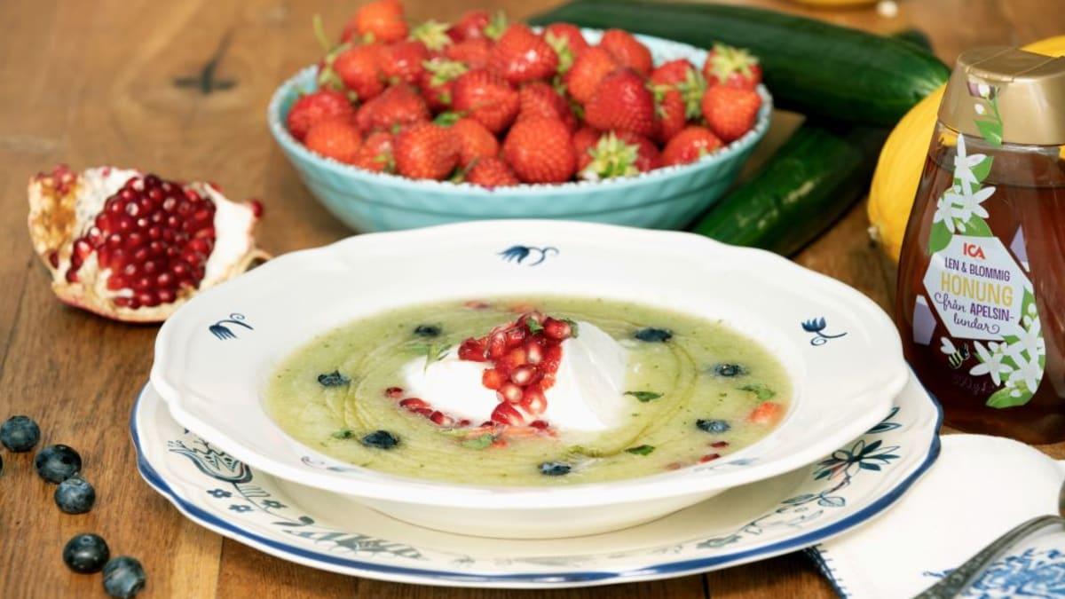 Meloni gaspacho