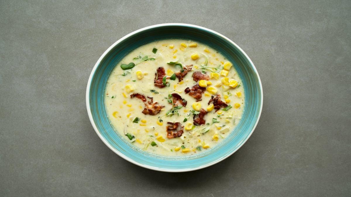 Kukurūzas čauders – it kā zupa, bet vesels ēdiens