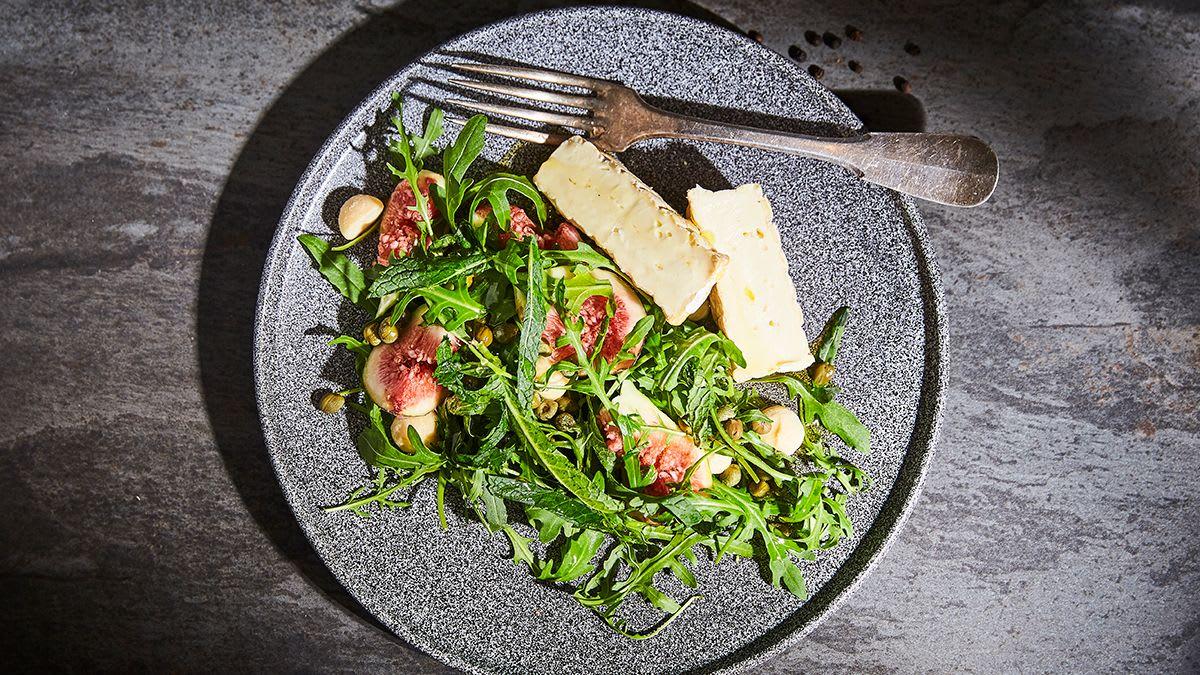 Brillat-Savarin un vīģu salāti