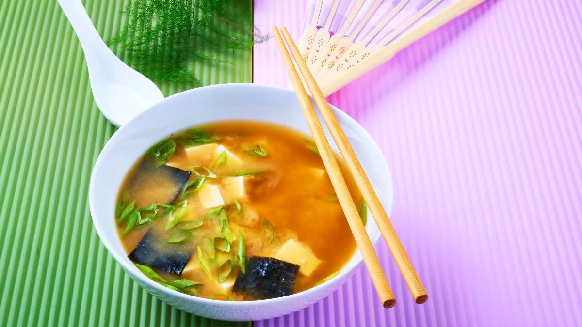 Japoniška MISO sriuba