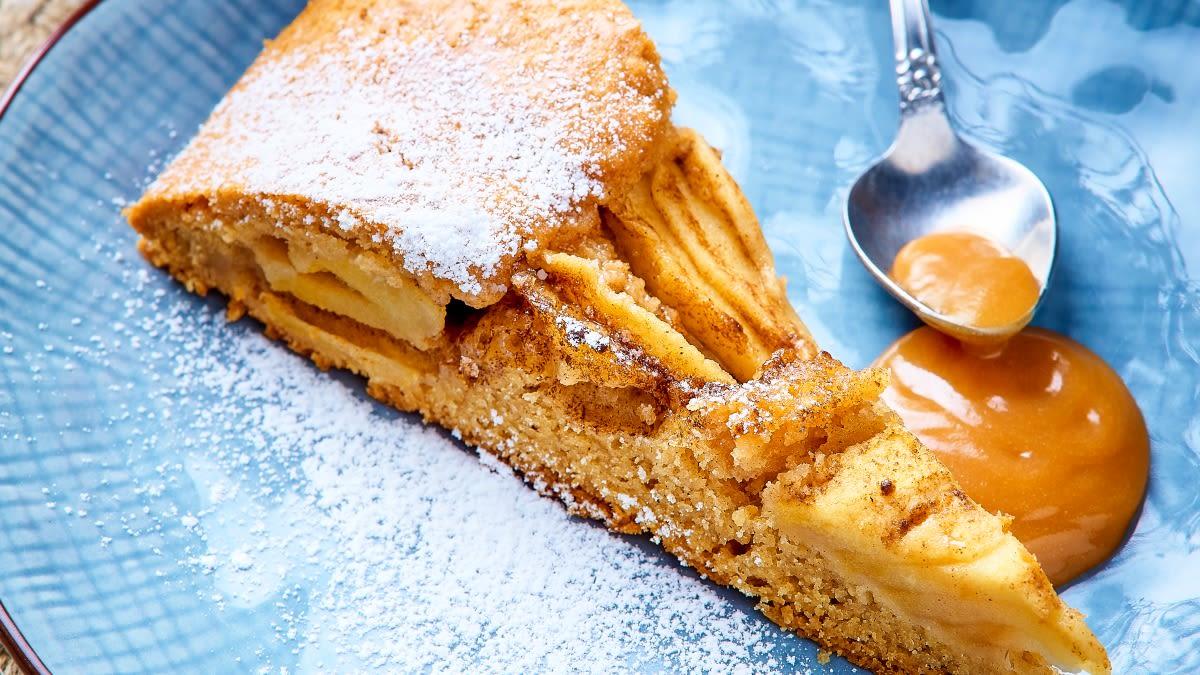 """Itališkas obuolių pyragas """"Crostata"""""""