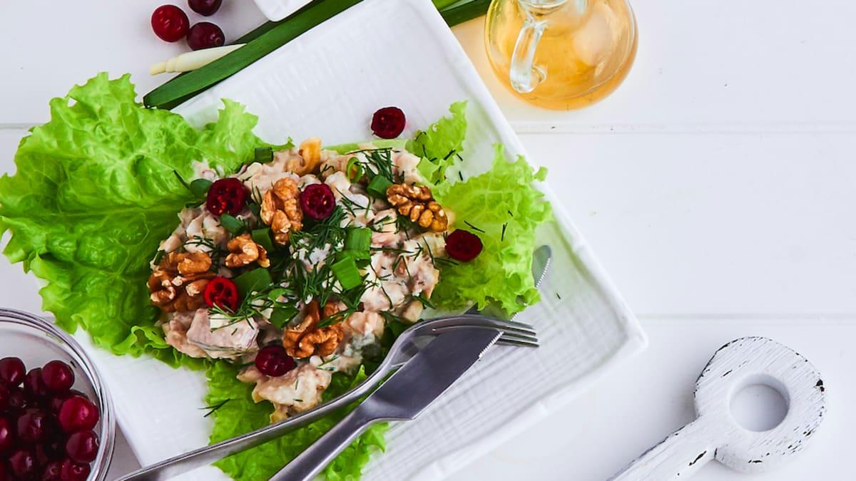 Elegantie siļķu salāti