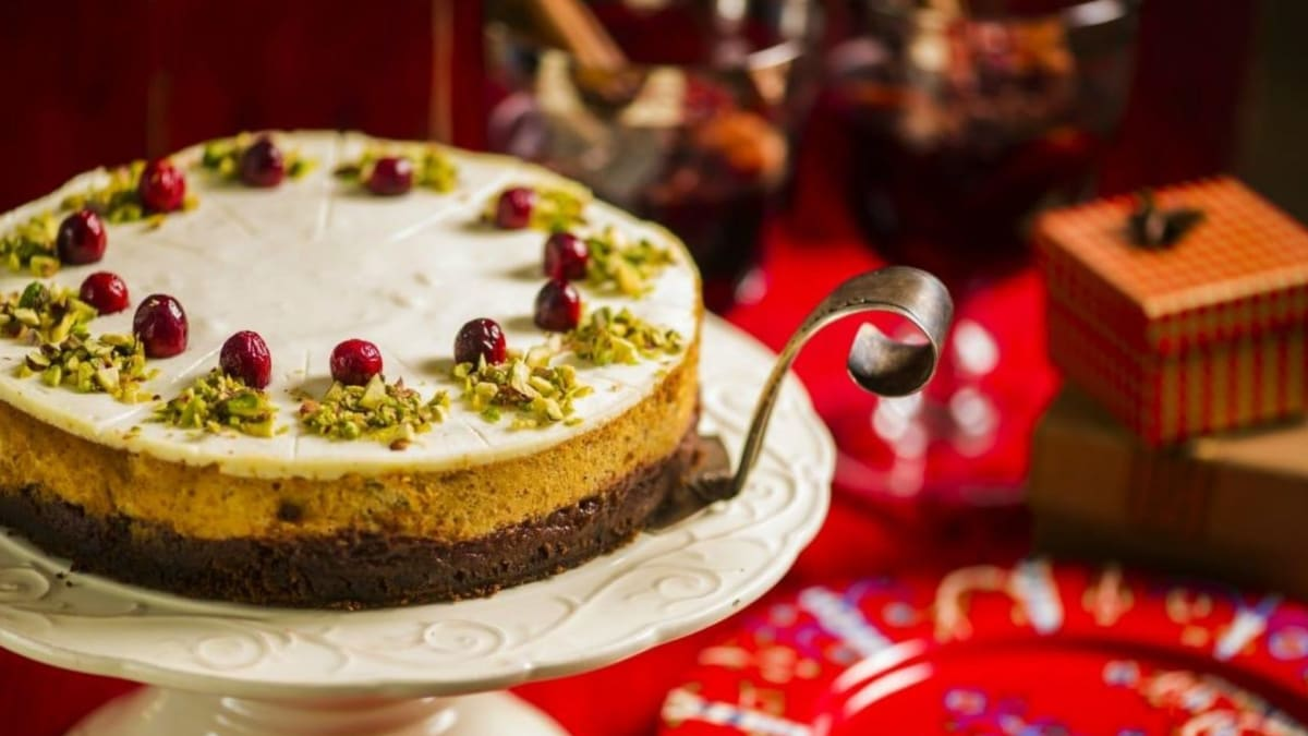 Imbierinis varškės pyragas
