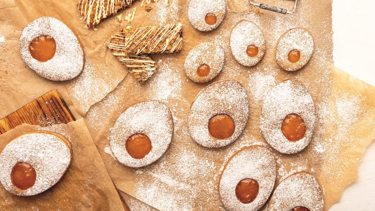 Sausainiai kiaušiniai