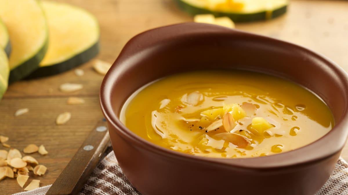Vegetariška moliūgų sriuba