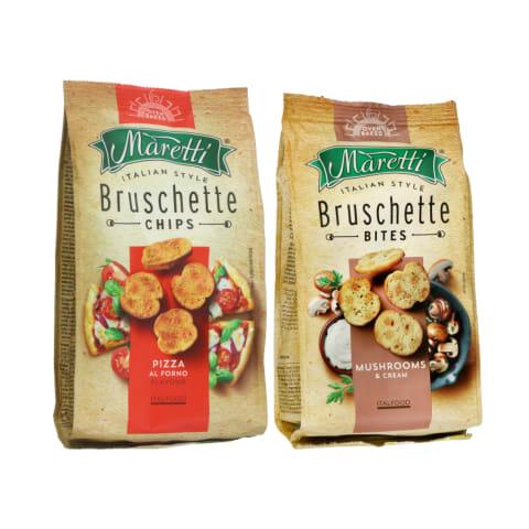 Duonos traškučiai MARETTI, 70 g (5 rūšys)