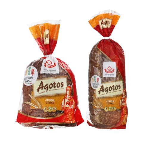 Juodai AGOTOS duonai, 375 g ar 800 g (2 rūšys)