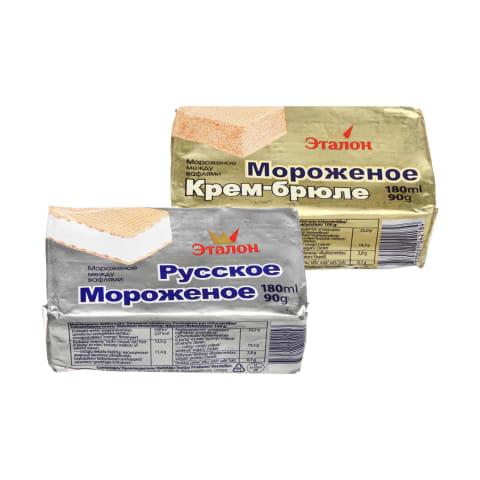 Ledų sumuštinis ETALON, 180 ml (3 rūšys)