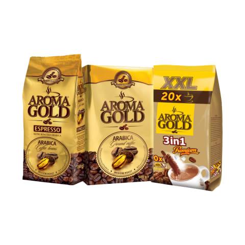 Maltai, tirpiai kavai ir kavos pupelėms AROMA GOLD