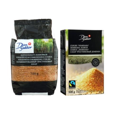 Cukrui DAN SUKKER, 500 ar 750 g (2 rūšys)