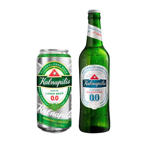 Nealkoholinis alus KALNAPILIS, 0,5 l (2 rūšys)