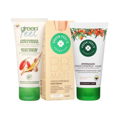 Kosmetikai ir kūno priežiūros priemonėms GREEN FEEL'S