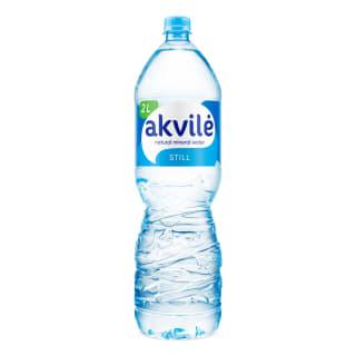 Natūralus negazuotas mineralinis vanduo AKVILĖ, 2 l