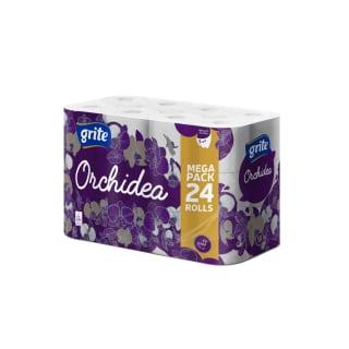 Tualetinis popierius GRITE ORCHIDEA SEASONS, 3 sl., 1 pak. (24 rit.)