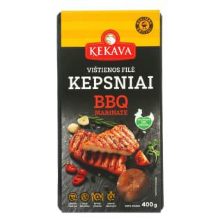 Vištienos filė KEPSNIAI BBQ marinate, 400 g