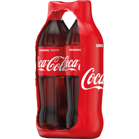 Gazuotas gaivusis gėrimas COCA COLA ZIP PACK, 2 x1,5 l