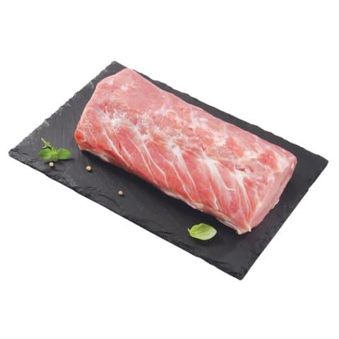 Kiaulienos nugarinė be kaulo, 1 kg (fasuota vakuume)