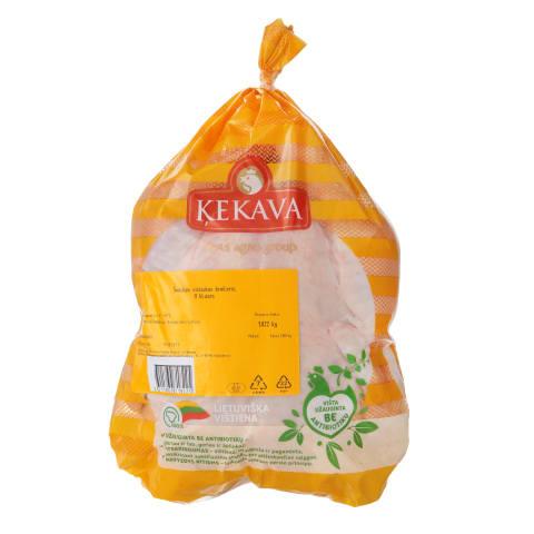 KEKAVOS viščiukas broileris užaugintas be antibiotikų, 1 kg