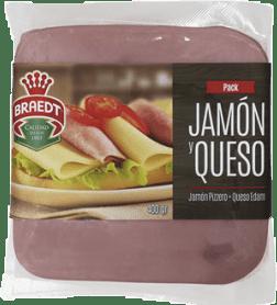 Pack Jamón y Queso Braedt