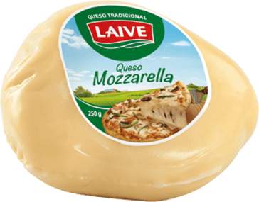 QUESO MOZZARELLA LAIVE PORCION- Cod:0260