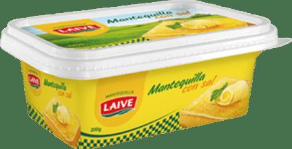 MANTEQUILLA LAIVE CON SAL POTE 200 GR- Cod:0581