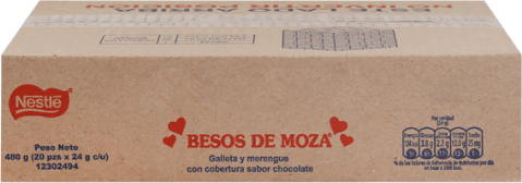 Besos de Moza Donofrio Caja 20x24g