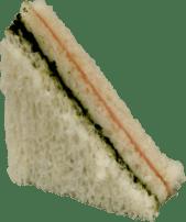 Sandwich de Espinaca y Jamón