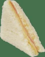 Sandwich Hawaiano con Jamón, Queso y Piña (miga)
