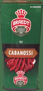 Cabanossi 600g Braedt