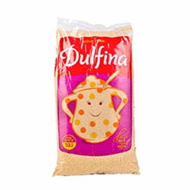 Azúcar rubia Dulfina paquete 10x1kg